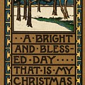 Christmas Card by American School