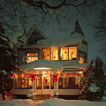 Christmas House by James Rasmusson