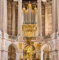 Church Altar Inside Palace Of Versailles by Jon Berghoff
