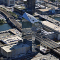 Cira Centre And Amtrak Garage 30th And Arch Streets Philadelphia Pa 19104  by Duncan Pearson