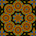 Circled Floral Mandala by Patricia Fatta