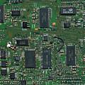 Circuit Board I by David Paul Murray