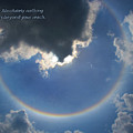 Circular Rainbow Inspiration by David Coblitz
