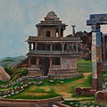 Cithradurga Fort by Usha Rai