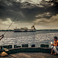 City Fishing by Bob Orsillo