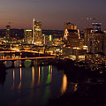 City Of Austin At Dusk by David Thompson