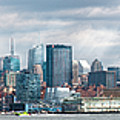 City - Skyline - Hoboken Nj - The Ever Changing Skyline by Mike Savad