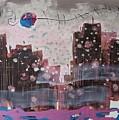 Cityscape by Seon-Jeong Kim