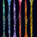 Clarinet Rainbow by Jenny Armitage