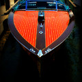 Classic Wooden Boat by Perry Webster