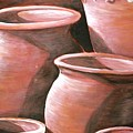 Clay Pots by Melissa Wiater Chaney