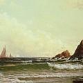 Cliffs At Cape Elizabeth by Alfred Thompson Bricher
