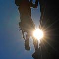 Climber Silhouette by Steve Somerville