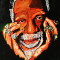 Cloud Eleven - Bill Russell by Saheed Fawehinmi