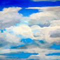 Cloud Study by Donna Proctor