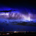Cloud To Cloud Lightning Boulder County Colorado by James BO  Insogna