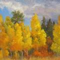 Clouds Of October by Bunny Oliver