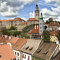Clouds Over Cesky Krumlov by Madeline Ellis