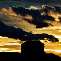 Cloudy Sunset by R Chandra