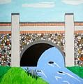 Cobblestone Bridge by Donald Herrick