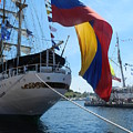 Colombian Tall Ship by Genevieve Keillor