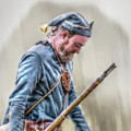 Colonial French Soldier  by Randy Steele