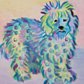 Colorful Dog by Monica Smith