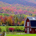 Colors Of New England by Rick  Monyahan
