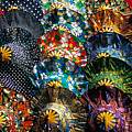 Colourful Umbrellas Bangkok Thailand by Petr Svarc
