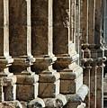 Columns Creating The Facade Of A Gothic-style Church by Sami Sarkis