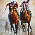 Contenders by Leonid Afremov