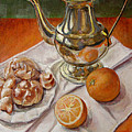 Continental Breakfast by JoAnne Castelli-Castor