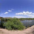 Coons Bluff Salt River Arizona by Brian Lockett