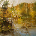 Coosa River In The Fall by Ann Caudle