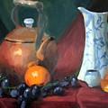 Copper And Neiman Vase by Britta Herzog