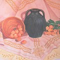 Copper Bronze And Apricots by Janet Summers-Tembeli
