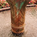 Copper Water Fountain by Eric  Schiabor