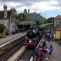 Corfe Castle Station by Rob Hawkins