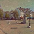 Corner Bosch Street And Market Maastricht by Nop Briex