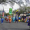 Corner Club 4 - Mardi Gras New Orleans by Kathleen K Parker