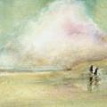 Corolla Beach Stroll by Donna Elio