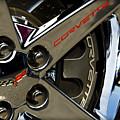 Corvette Spokes II by Ricky Barnard