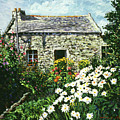 Cottage Of Stone by David Lloyd Glover