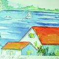 Cottage On Lake Lanier by Jill Morris