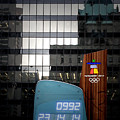 Countdown Clock Olympic Winter Games Vancouver Bc Canada 2010 by Christine Till