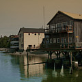 Coupeville Reflections Dm5014 by Mary Gaines