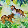 Courting Tigers. by Larry  Johnson