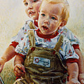 Cousins by Jean Hildebrant