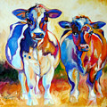 Cow Therapy Makes You Smile by Marcia Baldwin