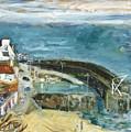 Crail Harbor by Joan De Bot